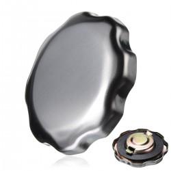 Honda benzinedop chroom zilver